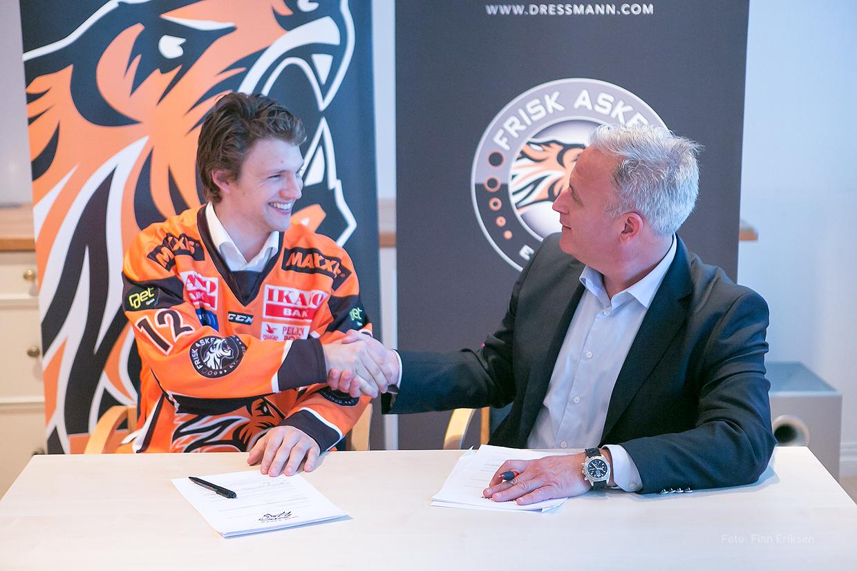 Henrik Ødegaard og Nicolay Sørensen