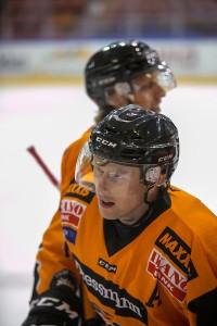 Oskar Nilsson scoret vårt mål