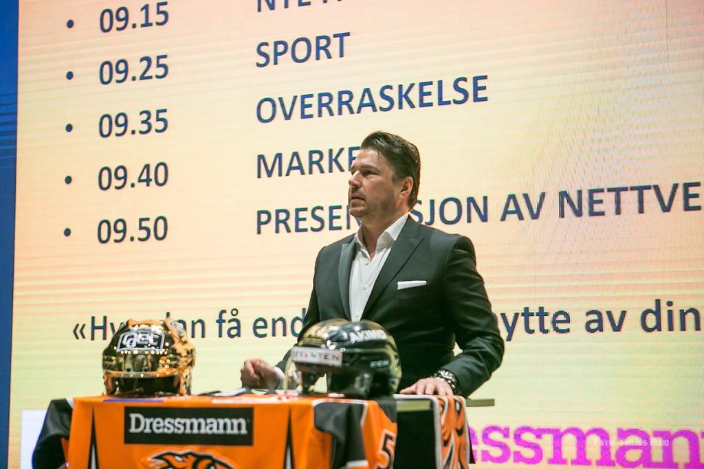 En engasjert Petter Varner