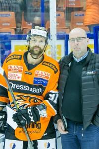 Bestemannspris til Jimmy Andersson. Men han måtte se Lillehammer score i sudden fra utvisningsboksen.