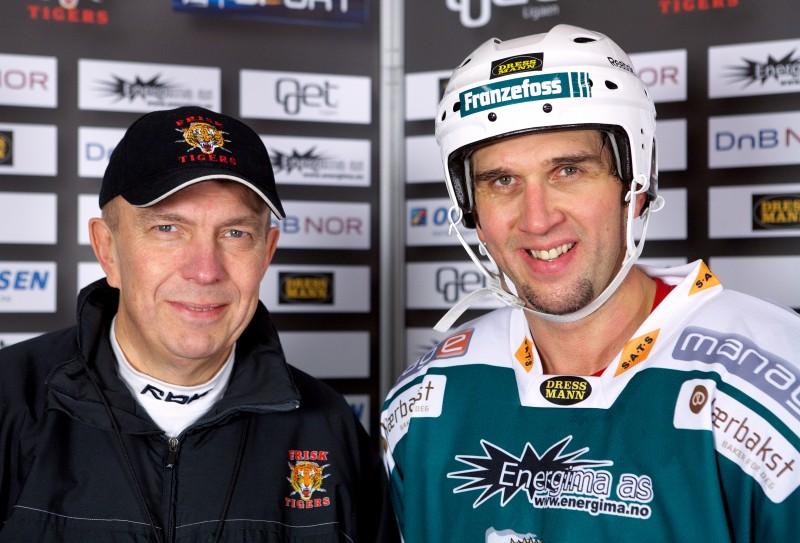 Sune Bergman og Rene Corbet