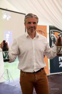Erik Solér fikk med seg noen smaksprøver fra Wettre Bryggeri.