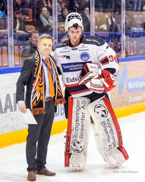 Ole Morten Furseth ble kåret til Kongsvingers bestemann i Askerhallen 30. desember 2016.