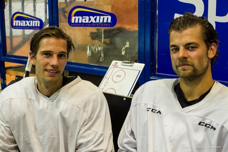 Cato Cocozza og Petter Kristiansen