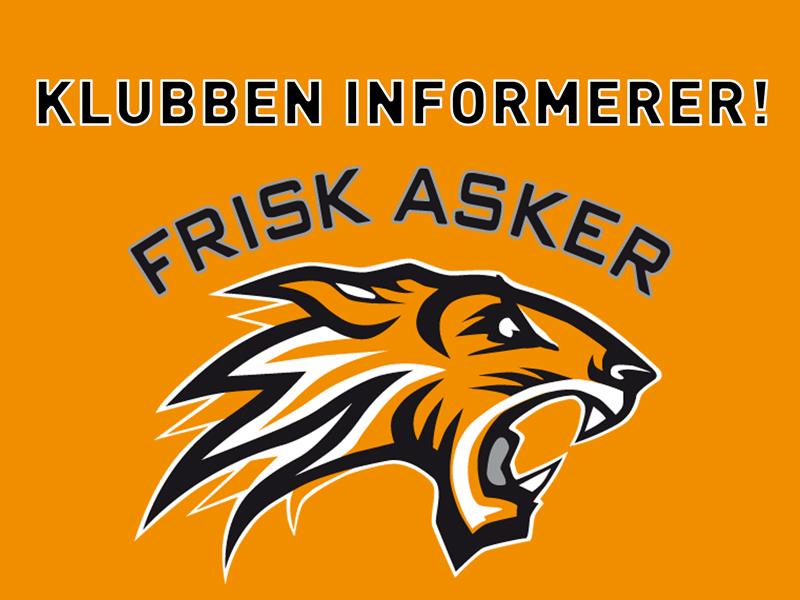 Frisk-Asker-informerer