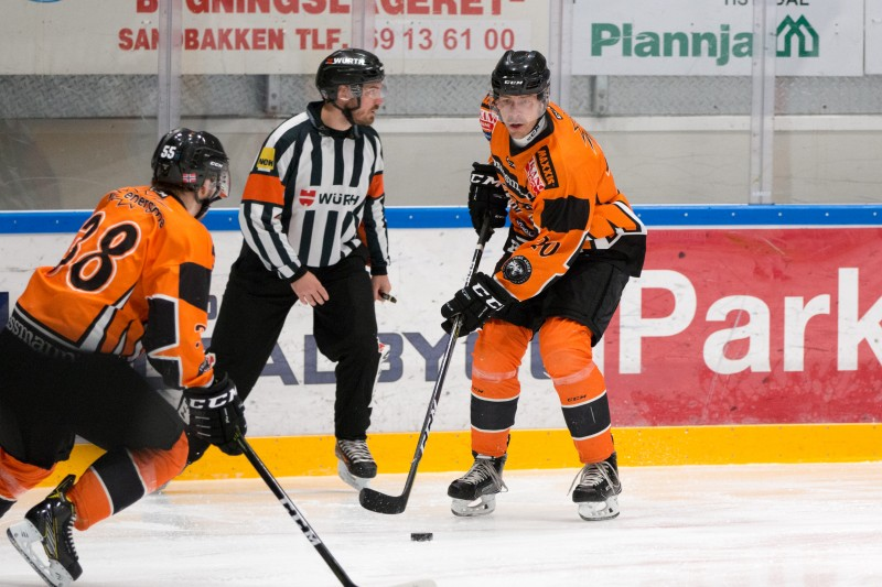 Anders Bastiansen ble to-måls scorer i kveld. Foto: Jon Anders Johansen