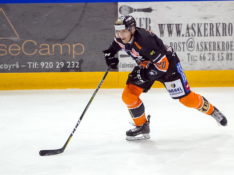 Anders Bastiansen kunne feire bursdag med seier mot Oilers.