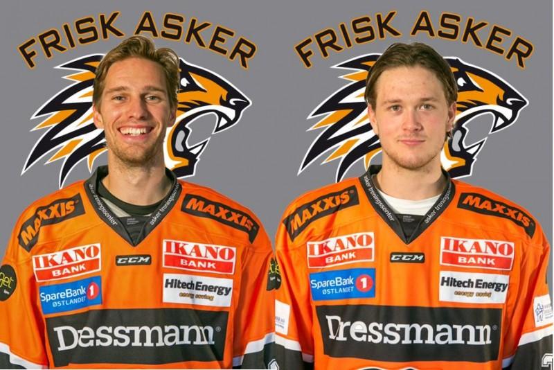 Cato Cocozza og Magnus Geheb