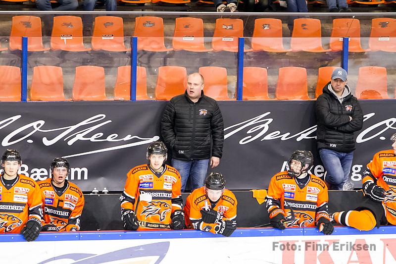 Christer Nylund på Frisk-benken