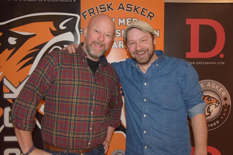 Geir Schau og Petter Uteligger