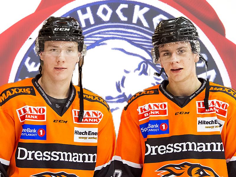 Markus Solberg og Oskar Blegen