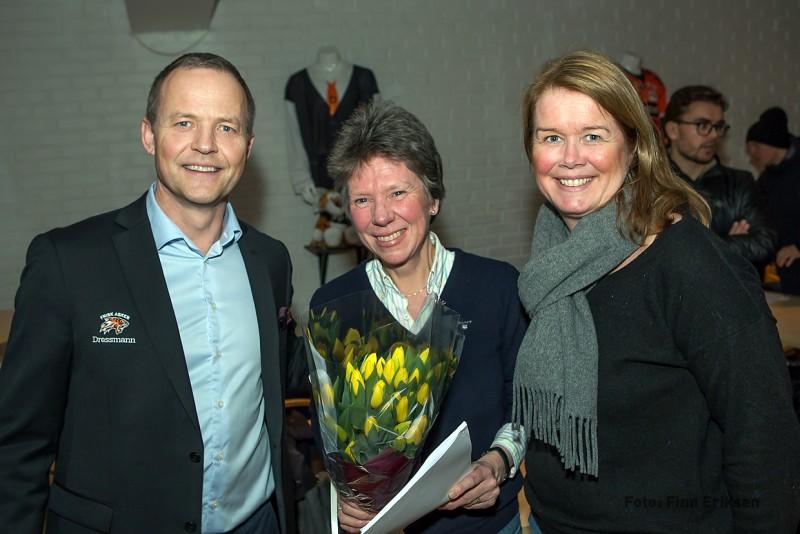 Øystein Hærem, Elisabeth Østigård og Bente Cramer Knudsen
