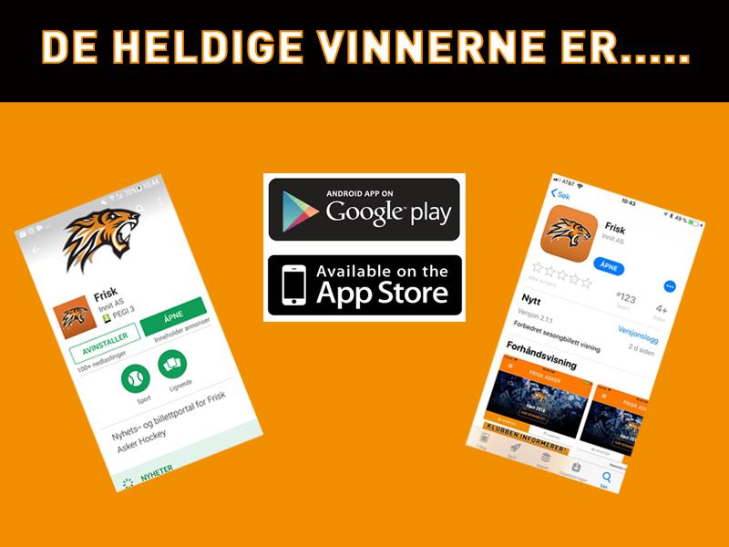 App-vinnere