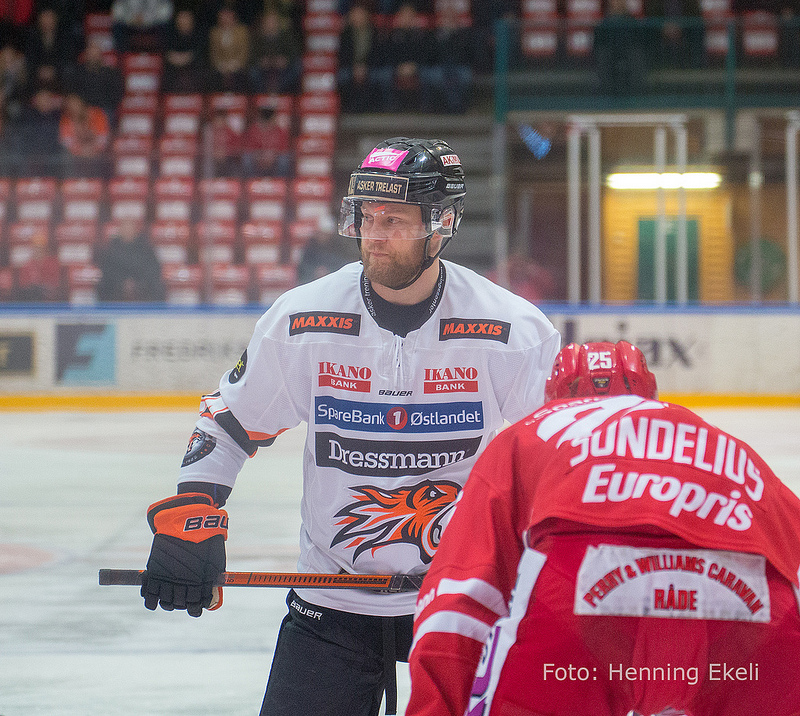 Hampus Gustafsson Foto: Henning Ekeli