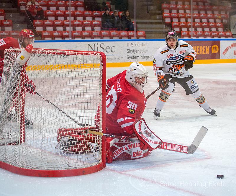 Endre Medby scoret vårt eneste mål i ordinær tid. Foto: Henning Ekeli