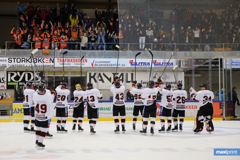 Takk til alle Frisk-supportere som tok turen til Lillehammer! FOTO: Arild Åssveen | Maxiprint