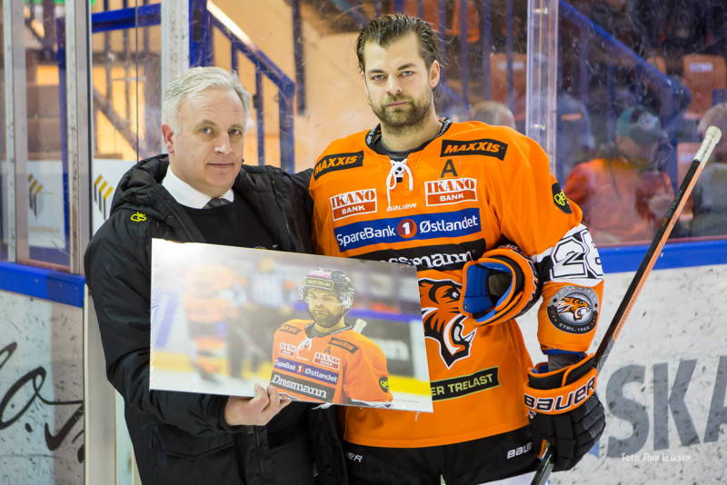Petter Kristiansen passerte 700 spilte kamper for klubben!