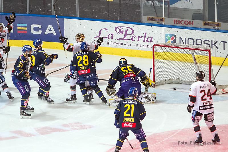 Fra semifinale på Hamar i 2018.
