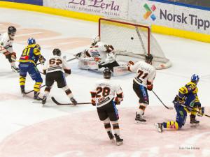 De fleste lag blir straffet hvis de lar Patrick Thoresen få for mye plass - også vi.... FOTO: Finn Eriksen