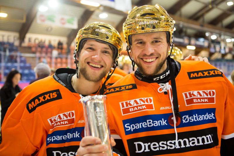 Henrik Ødegaard, her sammen med Ole Morten Furseth. Foto: Finn Eriksen