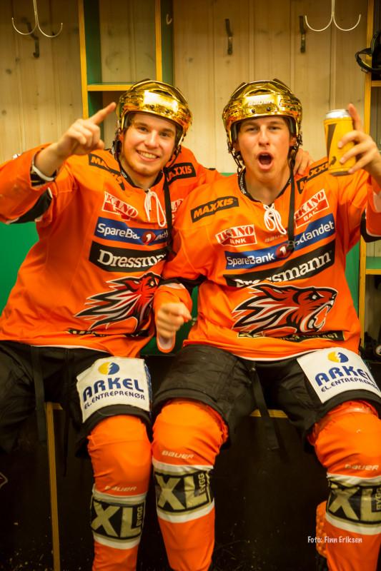Kristoffer Thomassen og Eirik Beier Jensen  FOTO: Finn Eriksen