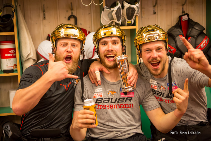 Vi håper Hampus får mer å juble for de kommende sesongene! FOTO: Finn Eriksen