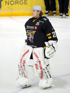 Henrik Fayen Vestavik i Ringerike-drakt. Foto: Finn Eriksen