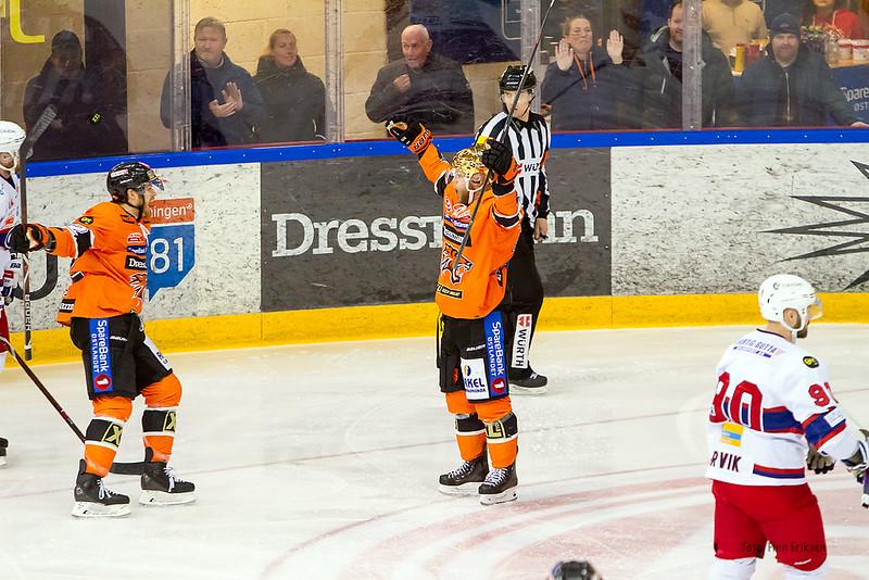 Hampus Gustafsson i vant positur! Foto: Finn Eriksen