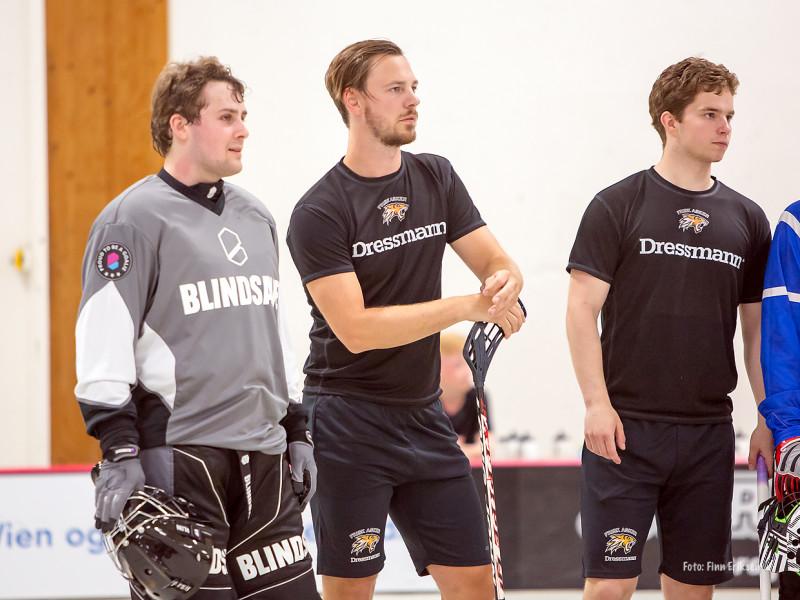 Endre Medby, Mikael Dokken og Kristoffer Thomassen Foto: FInn Eriksen