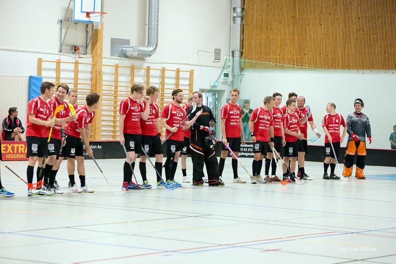 Kveldens vertskap, Asker IBK. Foto: Finn Eriksen