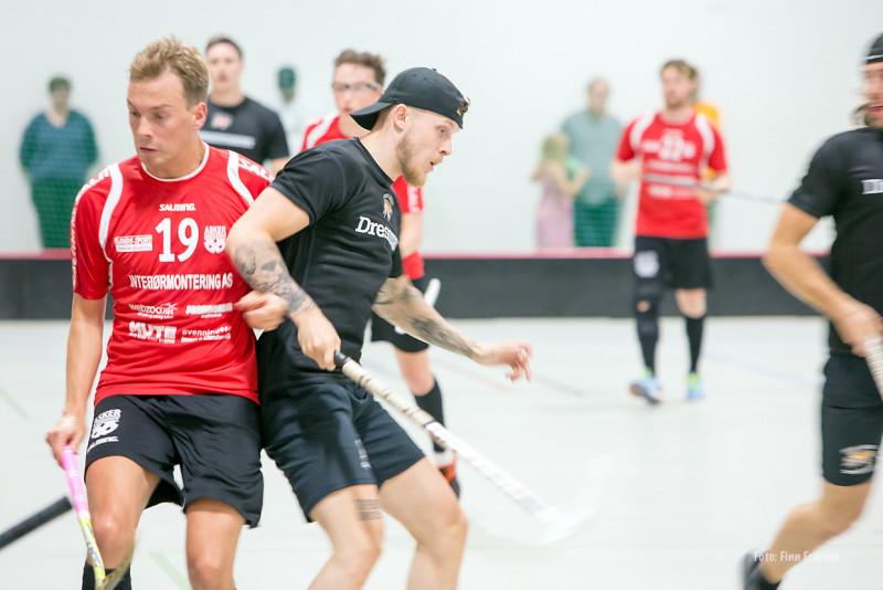 Victor Björkung: - Hater å tape! Foto: Finn Eriksen