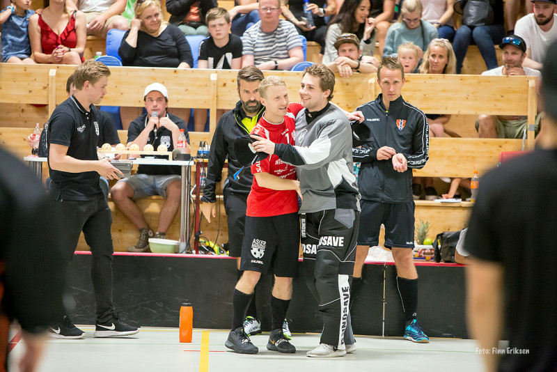 Chris Jaksland og Endre Medby Foto: Finn Eriksen