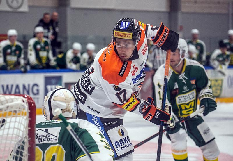 Mikkel Christiansen scoret sitt første for sesongen i GET. FOTO: HENNING EKELI