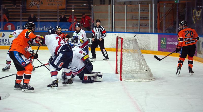 Mikael Dokken scoret 3-0 målet. Foto: Henning Ekeli