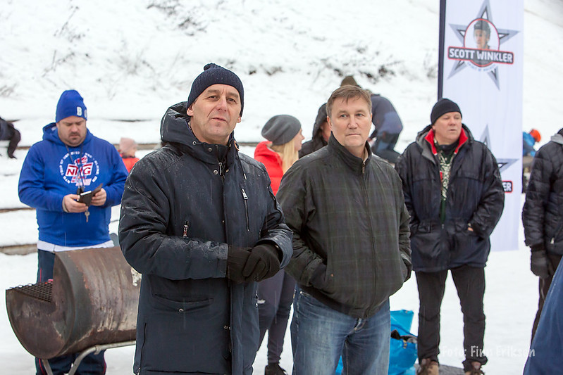 Jørgen Haga og Rodney Winkler