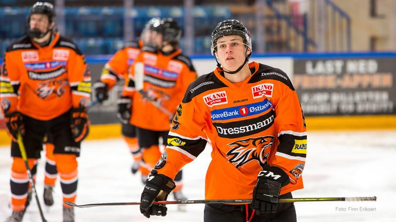 Jonas Hodt scoret i kveldens kamp mot MS. Foto: Finn Eriksen