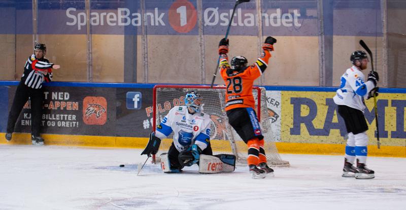 En liten opptur var det å se Geheb score sitt andre for sesongen. Foto: Henning Ekeli