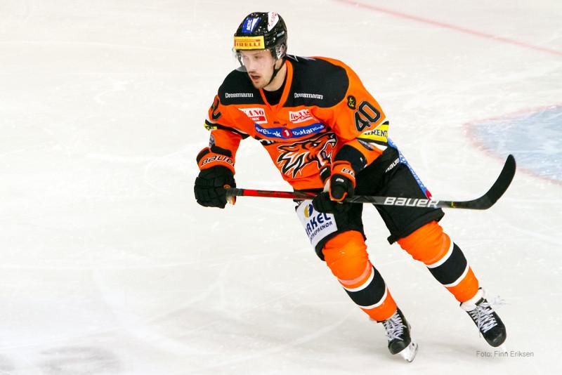 Lysse med sitt 7. mål for sesongen. FOTO: Finn Eriksen